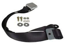 Moderne Boucle SECURON 111857704 DBLK Beetle Seat Belt 2 pt inertie Lap Noir