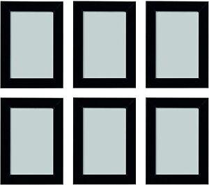 "Premier Quality Black 5""x7""/13x18cm Size Acrylic Front Photo Frame Wall Mount"
