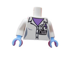 Lego Torso Oberkörper Wissenschaftler Serie 11 Forscher Arzt 973pb1483c01 Neu