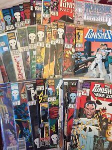 Marvel Comics Punisher 43 Comic Book Lot War Zone Journal Summer Xmas Specials