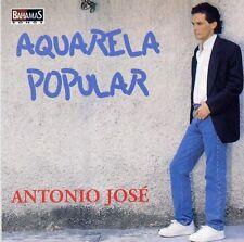 ANTONIO JOSE - AQUARELA POPULAR - CD ALBUM 12 TITRES 1998 TRES RARE