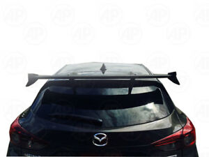 Fit Mazda 3 M3 5Dr Hatchback 2014-2017 Rear Spoiler Wing Unpainted KNIGHT SPORT