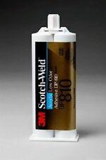 3M Scotch-Weld DP810 Low Odor Acrylic Adhesive, 50mL, Black