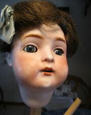 dunkelbraun 25 cm Puppenklinik Puppenhaar geflochten Zopf Puppendoktor