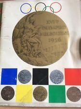 Melbourne Olympics 1956 Book