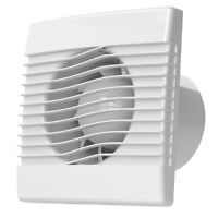 "6"" 150mm Extractor Fan Humidity / Humidstat Model Timer - Elex ECF150H"