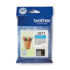 GENUINE AUTHENTIC BROTHER LC3217C CYAN INK CARTRIDGE
