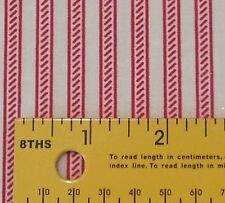 "21"" Collection of Edelin Wille Marcus Brothers Off-White Red Stripe Christmas"