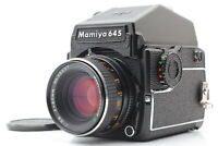 [N MINT] Mamiya M645 1000S 6x4.5 Film Camera +Sekor C 80mm f/2.8 Lens From JAPAN