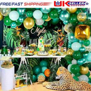 106Pcs Jungle Safari Theme Balloon Garland Arch Kit Birthday Party Decorations
