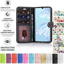 Per Huawei Honor Gioco 8A Flip Book Custodia Cover Portafoglio PU Cuoio slot per schede
