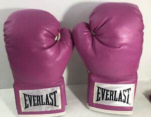 Everlast Wrist Wrap Training Gloves Pink 12 oz Level 1 Women's Boxing Mitt Spar