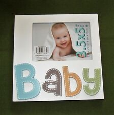 Wood Baby Picture Frame