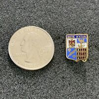 Cote D'Azur French Riviera Coat Of Arms VTG Travel Souvenir Pin Pinback #38320
