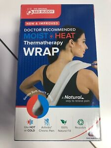 Carex Bed Buddy Heat Pad and Cooling Neck Wrap - Microwave Heating Pad for Sore