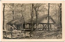 Tabernacle at Mennonite Campground in Laurelville PA RP Postcard 1944