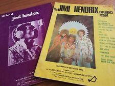 JIMI HENDRIX Early Songbooks