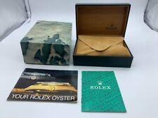 VINTAGE GENUINE ROLEX watch box case 68.00.08 Booklet 0907007mm