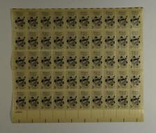 US SCOTT 1099 PANE OF 50 RELIGIOUS FREEDOM STAMPS 3 CENT FACE MNH