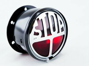 """Classic Miller """"STOP"""" Tail Light for Motorcycles or Cars"""