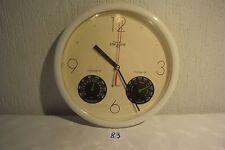 C83 Horloge Syman 1997 thermomètre hygromètre
