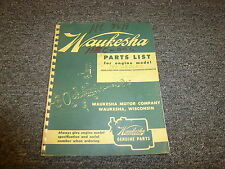 waukesha manual in heavy equipment parts accs ebay rh ebay ca