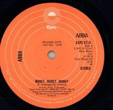 "Abba(7"" Vinyl)Money, Money,Money / Crazy World-Epic-S EPC 4713-Canada-Ex/G+"