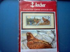 """New ListingRare Anchor Counted Cross Stitch ~Eagles Domain~Pce 718 7""""x18 1/2"""""""