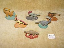 6x rara Jurassic Park Dinosaurios Diecast 1993 Brachiosaurus Velociraptor UCS 90s