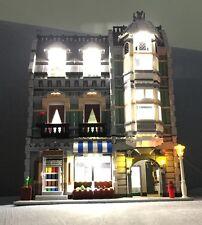USB LED Light Kit for Lego expert creator 10185 GREEN GROCER BRICK SET Building