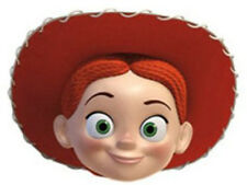 Jessie Toy Story Official Disney Pixar Single 2D Card Face Mask. Kids Party Fun