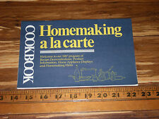 1987 Cookbook - Homemaking a la carte - Hershey's Keebler Lipton Reese's etc