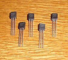 5 Transistoren J 201   ( JFET - Transistor , N - Channel , 40 V , 50 mA)