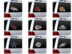 NFL DIE-CUT Window Film by Fremont Die -Select- Team Below