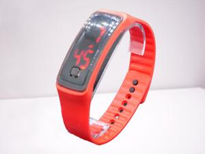 Digital Wrist Sport LED Watch - Neon Colours - Unisex/Kids