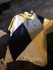 Nwt Mens Izod Argyle Polo Size XL Yellow Blue Gray