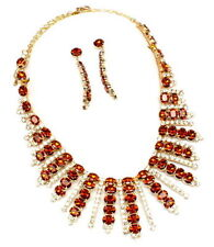 Amber Costume Jewellery Sets