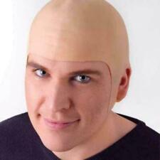 Complexion fake Bald Skinhead Wig Cap Clown Men Women party New Costume 2020
