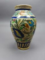 Large Antique Persian 17th/ 18th Century Pottery Vase 12 Inches