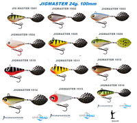 Spinmad JIGMASTER 24g. 100mm. excellent for pike & zander 1st class post