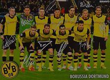 BORUSSIA DORTMUND - Autogrammkarte - BVB Autogramm Clippings Marco Reus NEU