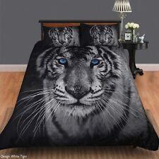White Tiger Duvet | Doona Quilt Cover Set | King