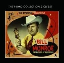 The Father of Bluegrass 0805520091510 by Bill Monroe CD