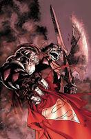 SUPERMAN #4 REIS FOIL COVER DC COMICS