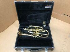 Yamaha Xeno YCR-8335G Bb Cornet- Great Original Condition-Gold Brass Bell Model-