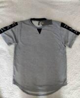 American Legacy Amongst Others Men's Shirt Gray Black Textured Tee AO-1021 XL