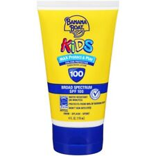 Banana Boat Kids Max Protect  Play Lotion Sunscreen Broad Spectrum SPF 100 - W