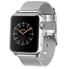 PASBUY 89C Milanese Stainless Steel Bracelet Band for Apple Watch Series 4 3 2 S