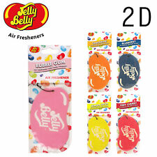 JELLY BELLY AIR FRESHENER ALL 2D FLAVOURS - CHOOSE YOUR FAVOURITES!