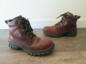 Women's Ecco 3DS gore-tex Hiking Trail Boots Work Boots Size 7-7.5 / 38